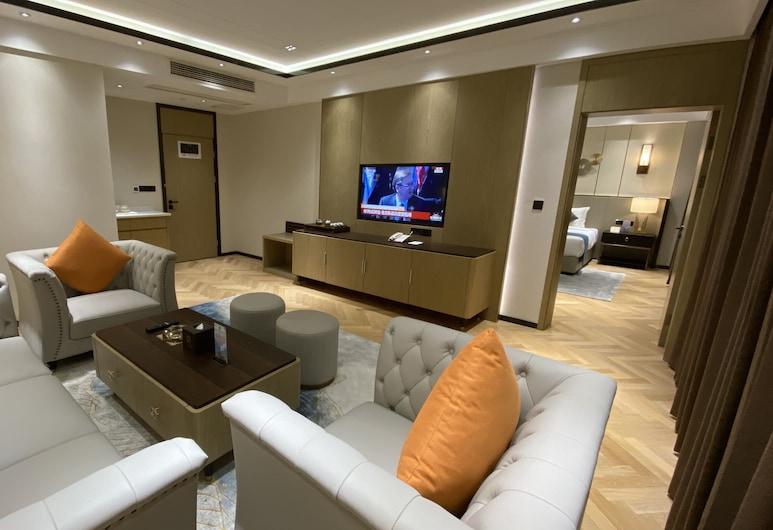 Ocean Delight Boutique Hotel, Sihanoukville, Business Suite 商务套房, Wohnzimmer