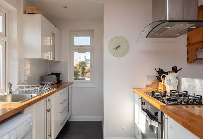 Bright 2 Bed, 5 Minutes From Greenwich Dlr!, London, Omaette köök