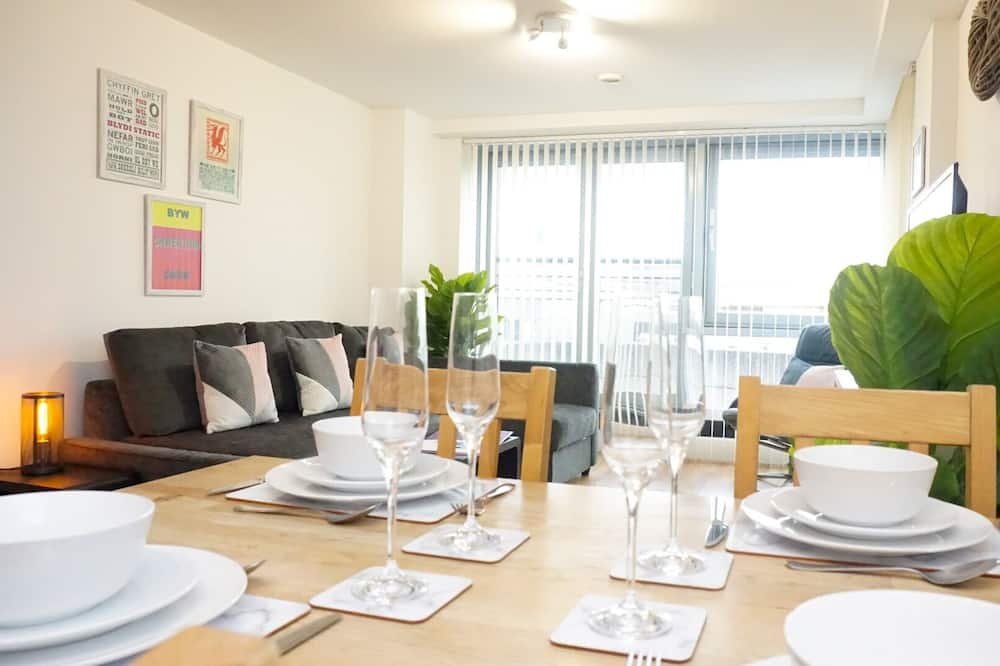 Apartment, 1 Bedroom, City View - In-Room Dining