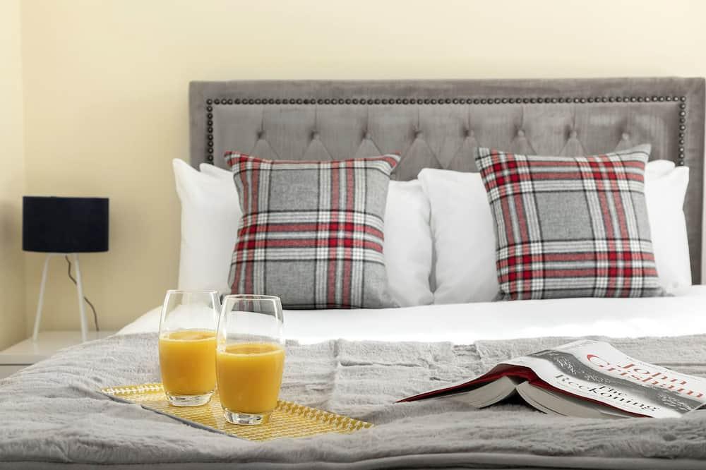 Апартаменты, 2 двуспальные кровати - Номер