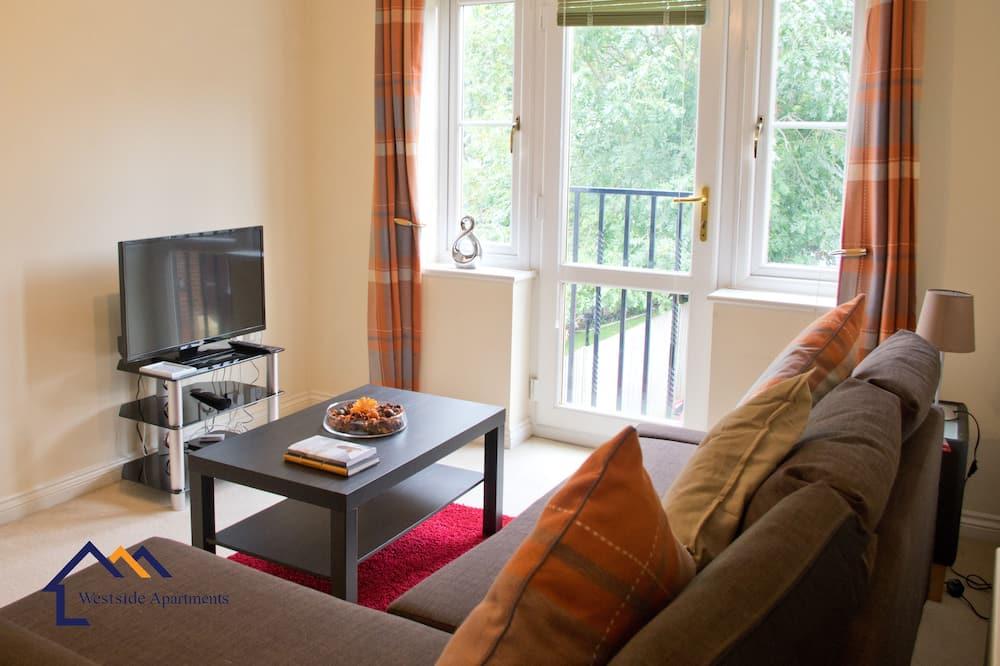 Apartment, 1 Bedroom, Garden View - Living Area