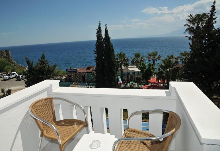 Royal City Hotel, Antalya, Standard dubbelrum - havsutsikt, Gästrum