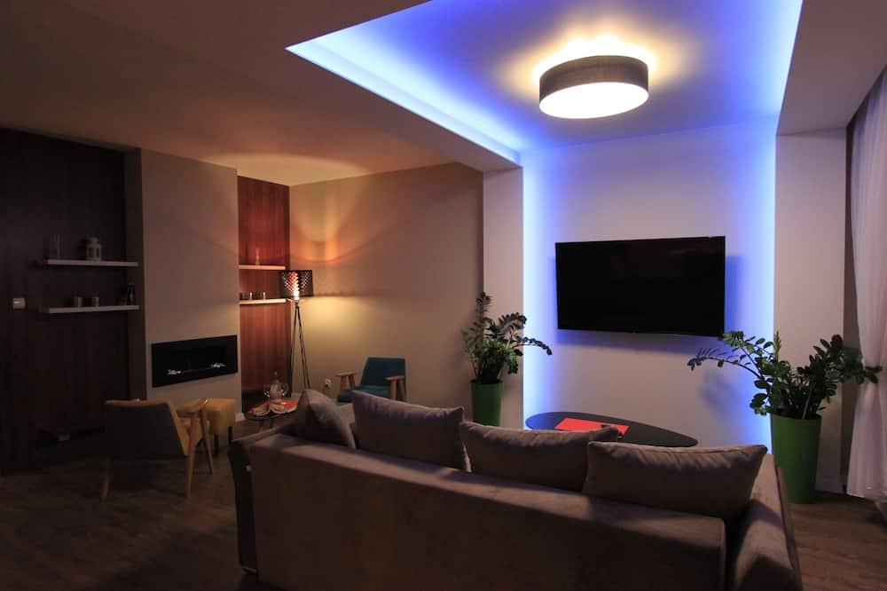 Apartmán typu Comfort, více lůžek, výhled do dvora - Pokoj