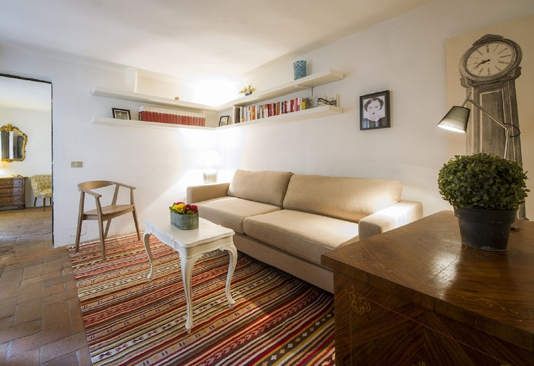 Vanina Apartment, Florence, Apartment, 1 Bedroom, Living Area
