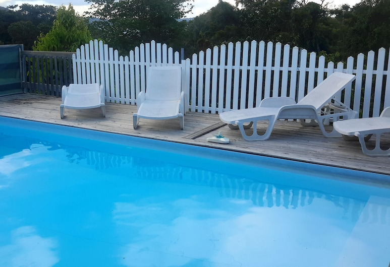 Property With 2 Bedrooms in Le Robert, With Shared Pool, Furnished Garden and Wifi, Le Robert, Pool