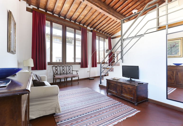 Maggio View, Florence, Appartement, 1 chambre, Coin séjour