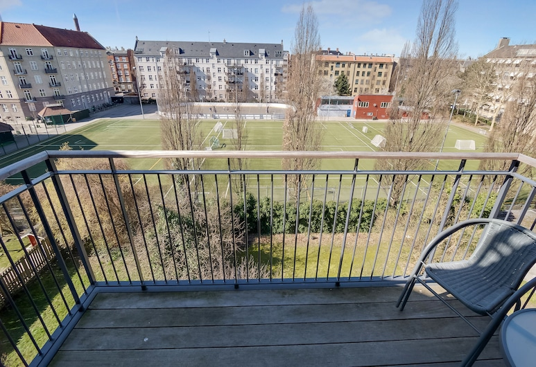 Apartment Bentzonsvej 11 4th floor, פרדריקסברג, דירה, 2 מיטות קווין, מרפסת/פטיו