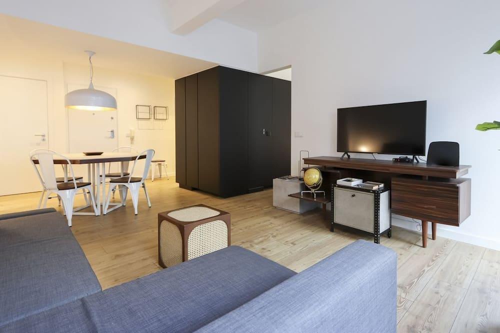 Lägenhet Design - 1 sovrum - terrass - Gästrum
