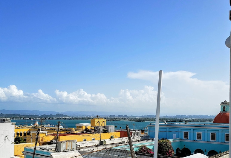 Roof top Hotel Apartment #5 King Bed - Old San Juan, San Juan, Balcony