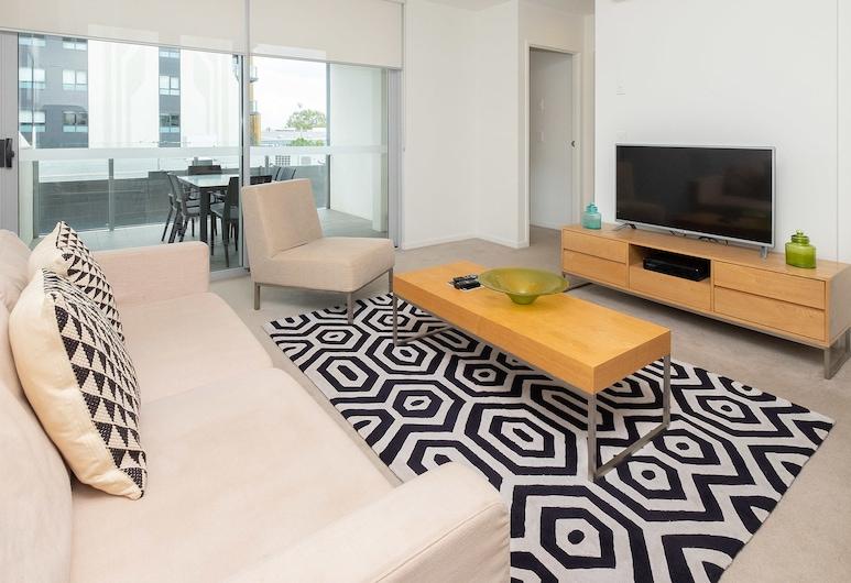 Mowbray East Apartments, Đông Brisbane, Căn hộ Exclusive, 2 phòng ngủ, Khu phòng khách