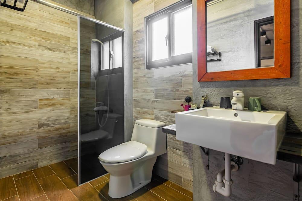 標準雙人房, 露台 - 浴室