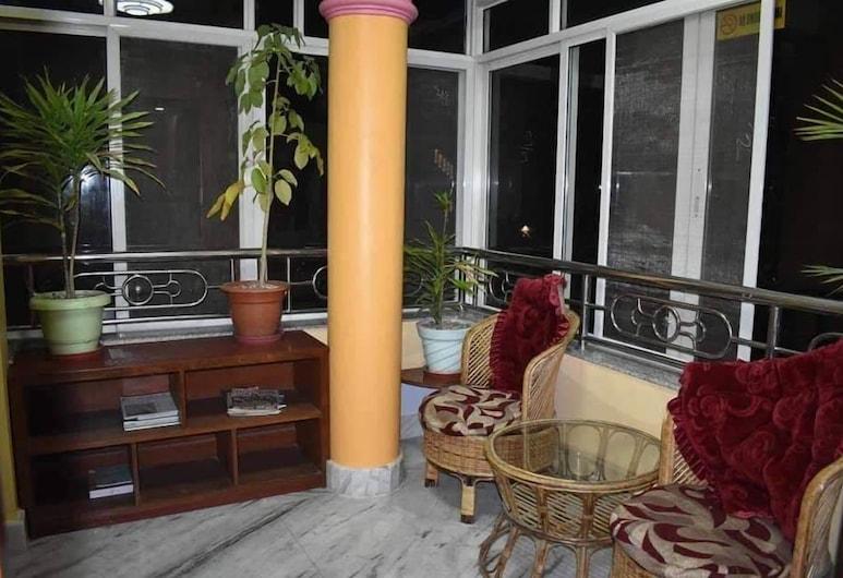 Golden heaven homestay, Kathmandu, Двухместный номер с 1 или 2 кроватями, 2 односпальные кровати, вид на долину, Терраса/ патио