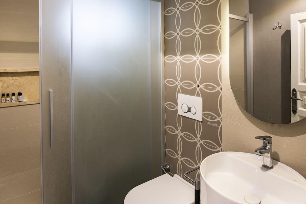 Standard Tek Büyük veya İki Ayrı Yataklı Oda, Sigara İçilmez, Şehir Manzaralı - Banyo