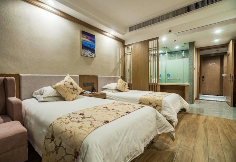 Xinyue Hotel, Hangzhou, Deluxe - kahden hengen huone, Vierashuone