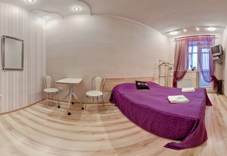 Hostel Kharkov Citizen, Harkova, Trīsvietīgs ģimenes numurs, vairākas gultas, skats uz pilsētu, Viesu numurs