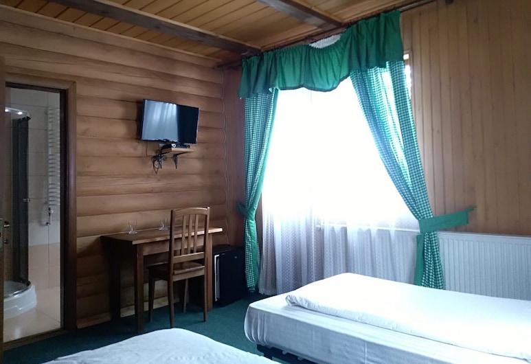 オスタルプラッツ ホテルコンプレックス, ブコヴェリ, スタンダード ツインルーム シングルベッド 2 台 マウンテンビュー, 部屋