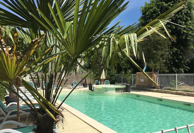 Camping L'Oasis, Grospierres, Välibassein