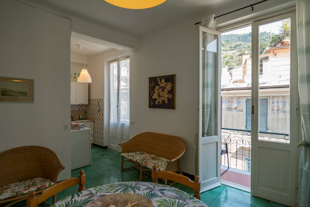 Traditional Apartment, 2 Bedrooms, City View - Living Area