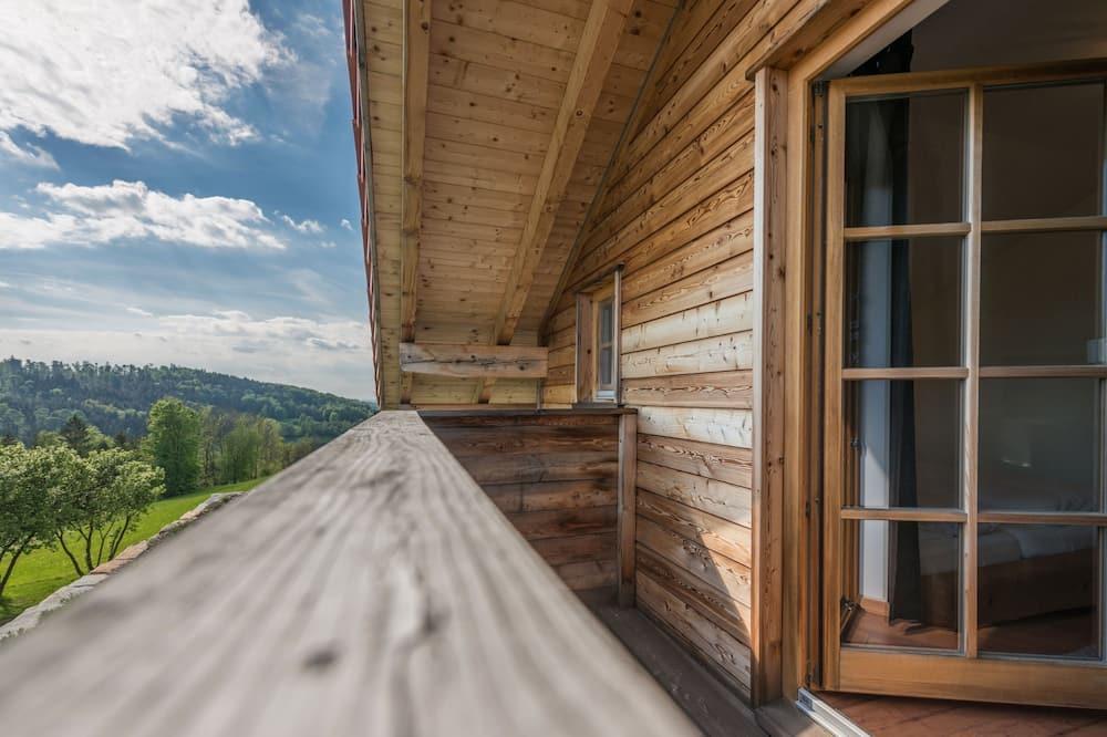 Panoramic-Chalet, Sauna, Talblick - Balkon