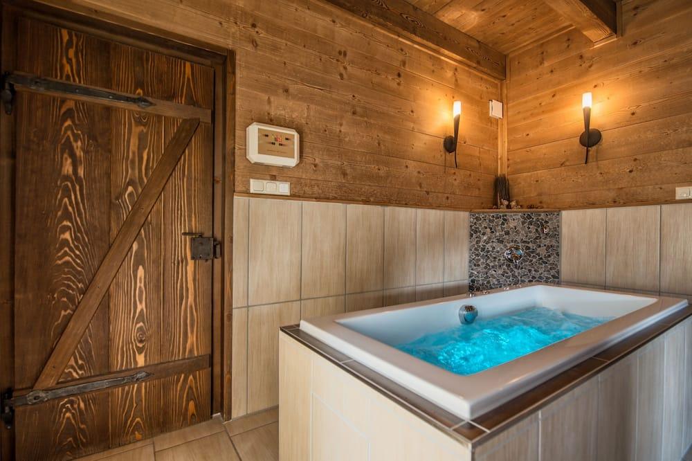 Panoramic-Chalet, Sauna, Talblick - Privater Whirlpool