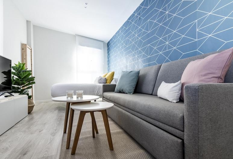 奧拉拉馬德公寓酒店, 馬德里, 開放式客房 (4C), 客廳