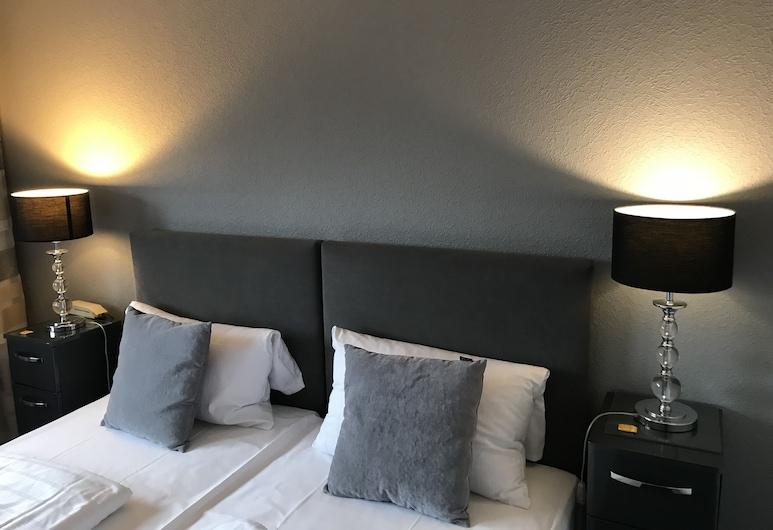 Waldhotel Peter aufm Berge, Bielefeld, Tweepersoonskamer, privébadkamer (Extra bed), Kamer