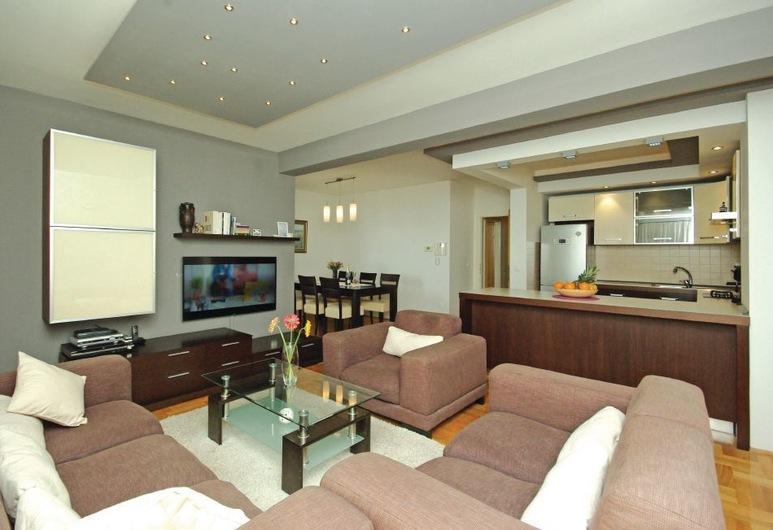 Apartment Sea Sun, Makarska, Apartment, Terrace, Sea View, Living Area