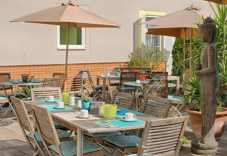 Maxhotel, Lindau (Bodensee), Terrass