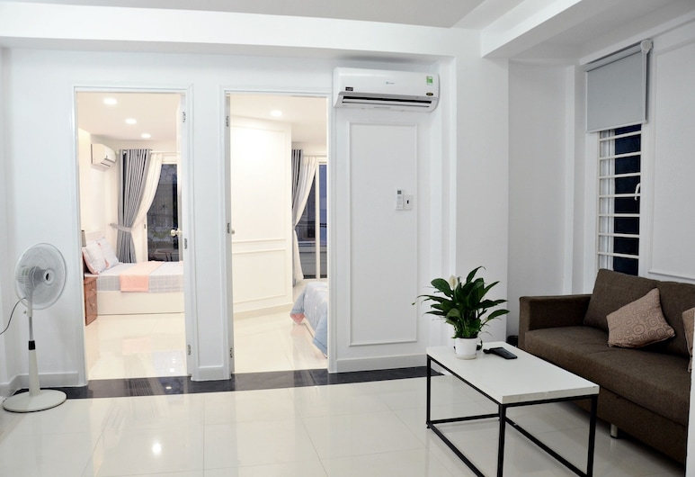Smiley Apartment 8, Ciudad Ho Chi Minh, Departamento Deluxe, 2 habitaciones, Sala de estar