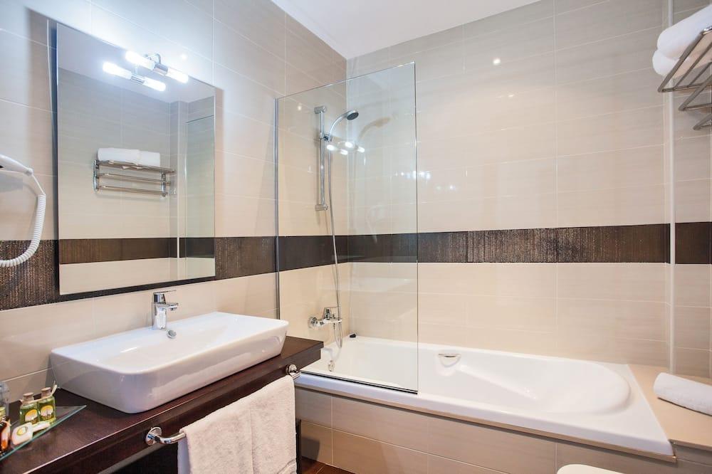 Chambre Double, vue mer - Salle de bain
