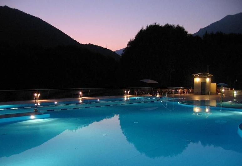 Campeggio Valle Gesso, Εντράκ, Εξωτερική πισίνα