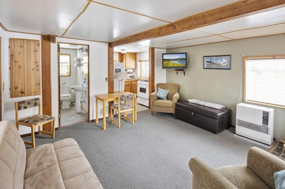 Ferienhaus, 1 Schlafzimmer, eigenes Bad - Wohnbereich