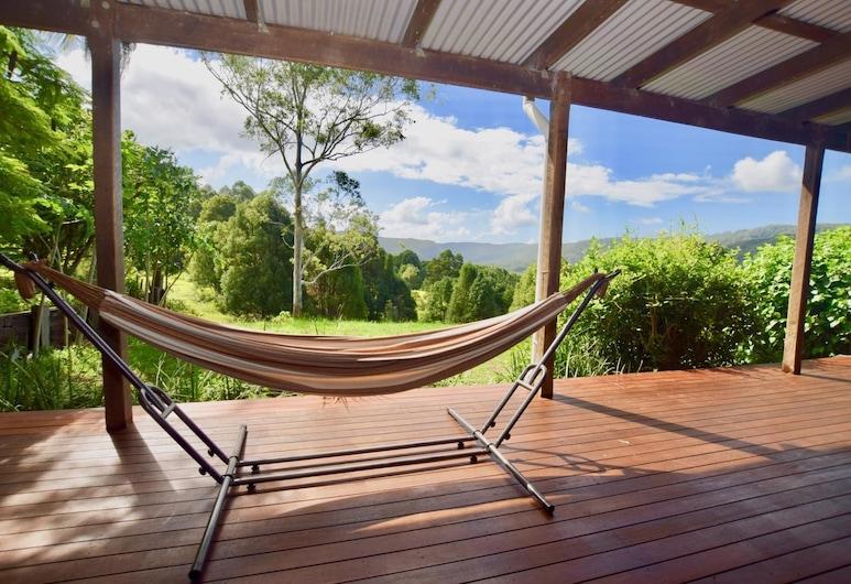Wyndella Retreat, Repentance Creek, Casa de campo exclusiva, 3 habitaciones, vistas a la montaña, Terraza o patio