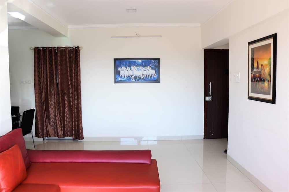 Standard-dobbeltværelse - byudsigt - Opholdsområde