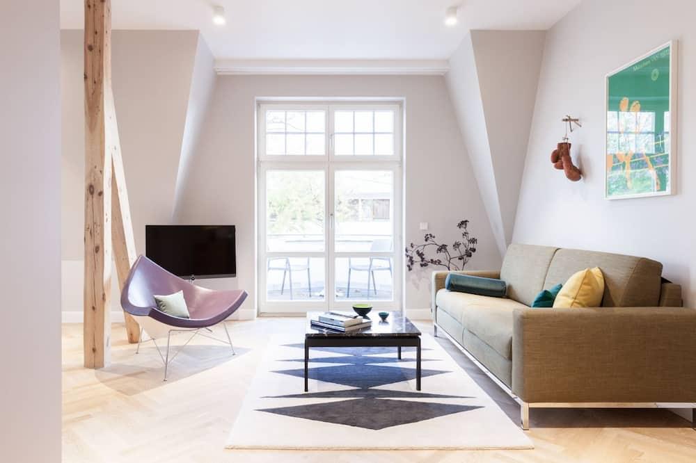複式房屋, 多張床, 海景 - 客廳