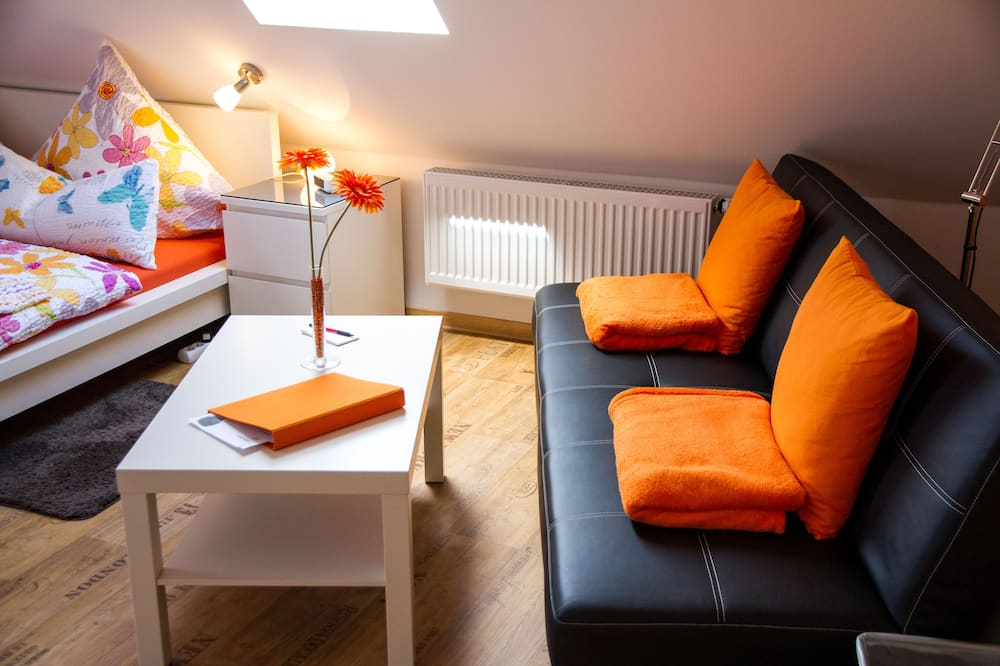 Apartamentai (Blumenzimmer) - Svetainės zona