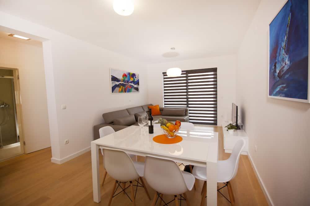 شقة (5) - منطقة المعيشة