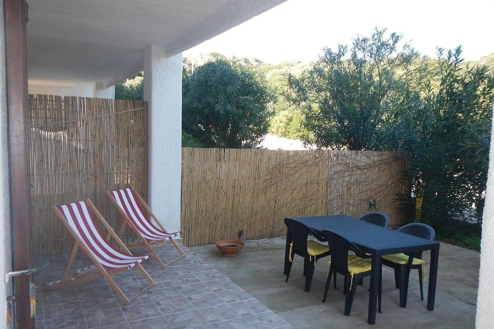 Departamento familiar, 1 habitación, vista al parque (Casa Oleandra) - Balcón
