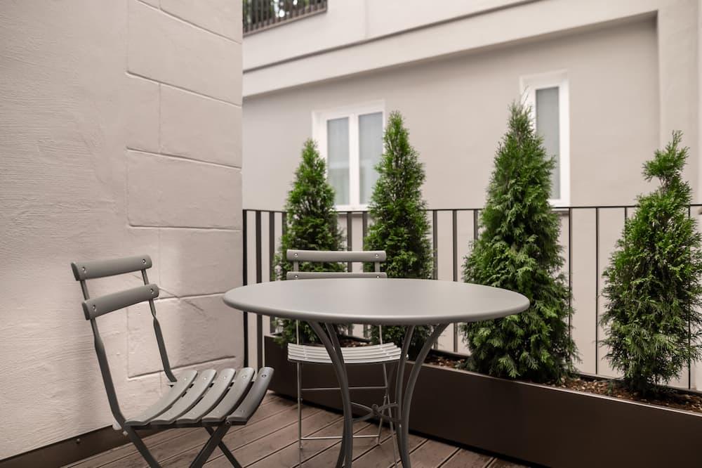 Apartmán typu Deluxe, balkon, výhled do dvora - Balkón