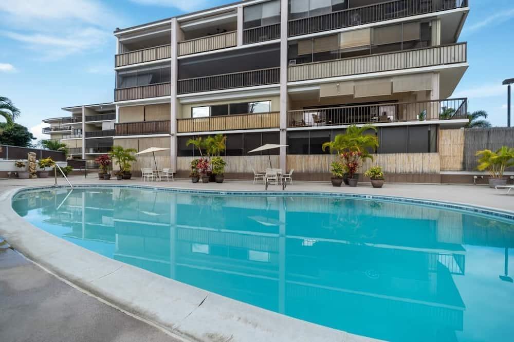 Квартира, Несколько кроватей (Kona Plaza 217) - Открытый бассейн