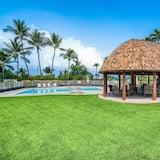 Квартира, Несколько кроватей (Keauhou Punahele E-102) - Открытый бассейн