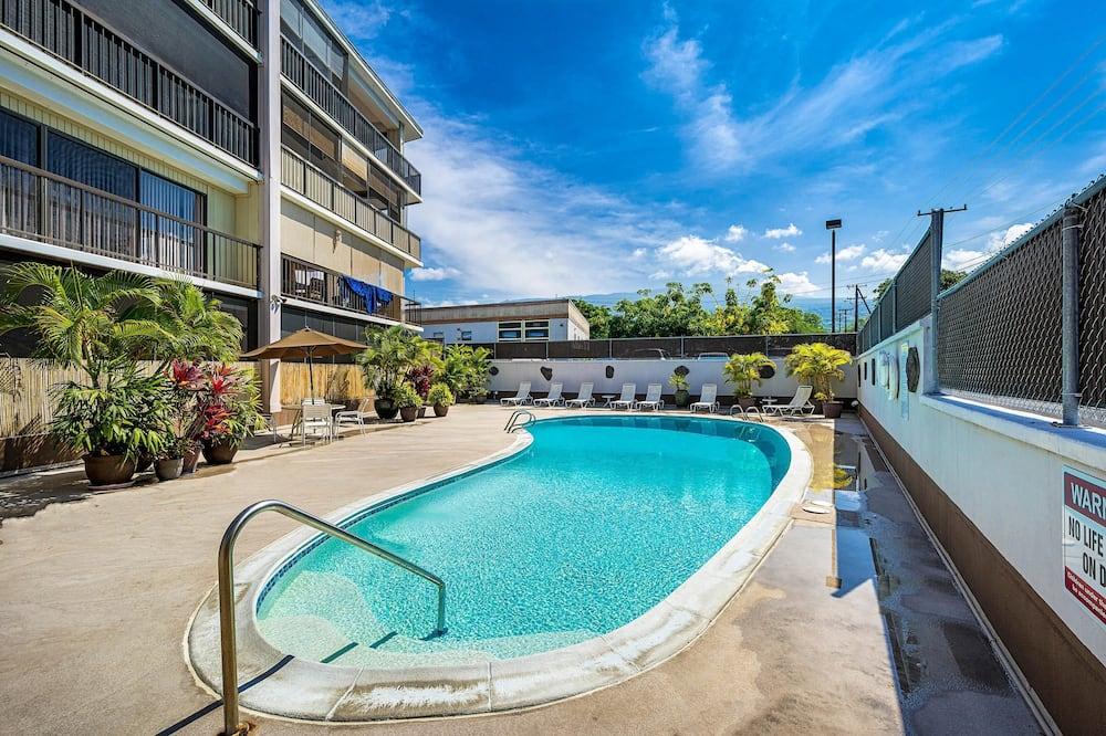 Διαμέρισμα (Condo), 1 King Κρεβάτι (Kona Plaza#402) - Εξωτερική πισίνα