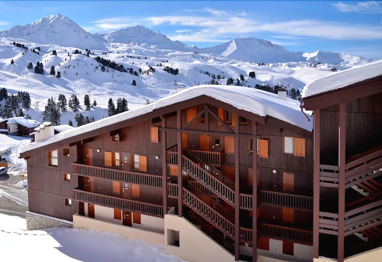 美麗普拉涅兩房 5 人滑雪坡公寓酒店 - 度假村中央 Ph410, 拉普蘭-塔朗泰斯, 公寓, 多張床 (BELLE PLAGNE apartment two-roomed for), 住宿範圍