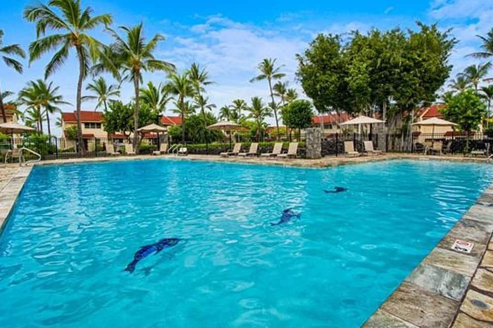 Квартира, Несколько кроватей (Keauhou Kona Surf & Racquet Club #176) - Открытый бассейн