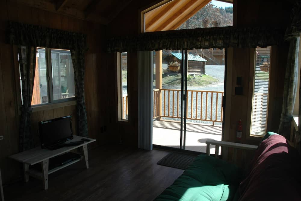 Comfort Μικρό Σπίτι, Περισσότερα από 1 Κρεβάτια, Θέα στο Βουνό - Περιοχή καθιστικού
