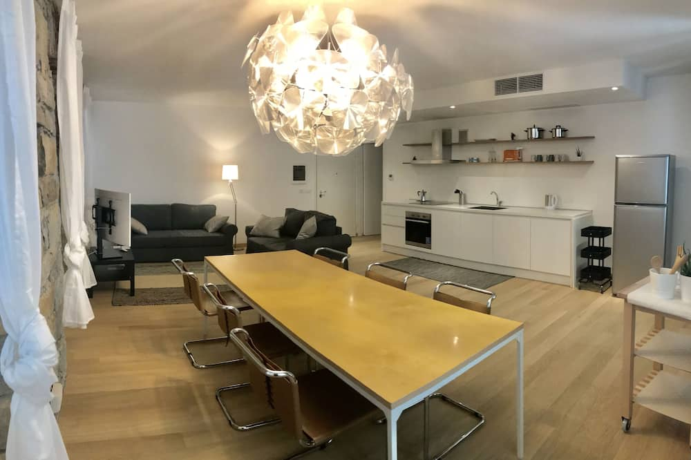 Departamento de lujo - Sala de estar