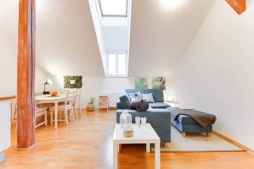 Pokój Deluxe, widok na miasto - Powierzchnia mieszkalna