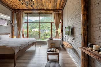 Guilin bölgesindeki Yangshuo Autumn Inn resmi