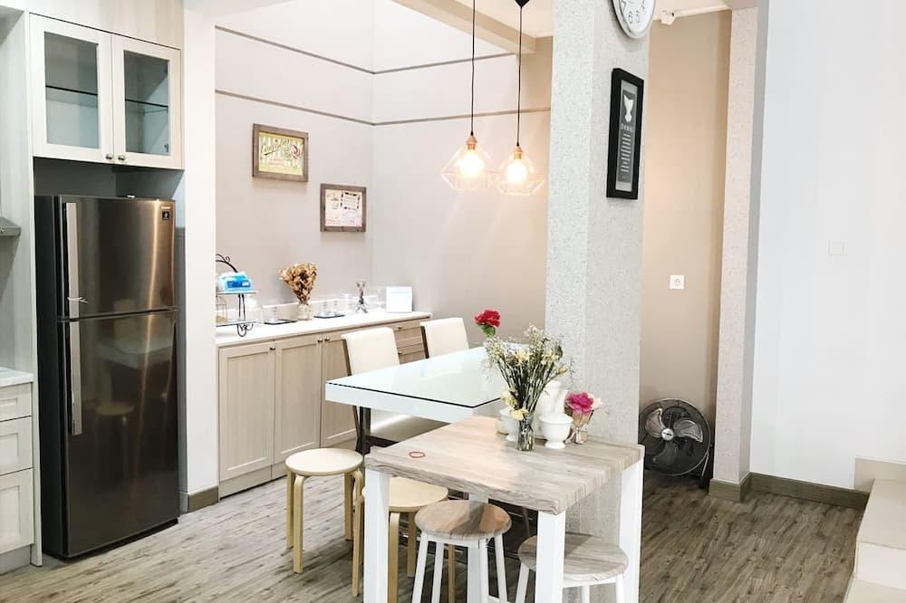 บ้านพัก, 3 ห้องนอน - บริการอาหารในห้องพัก