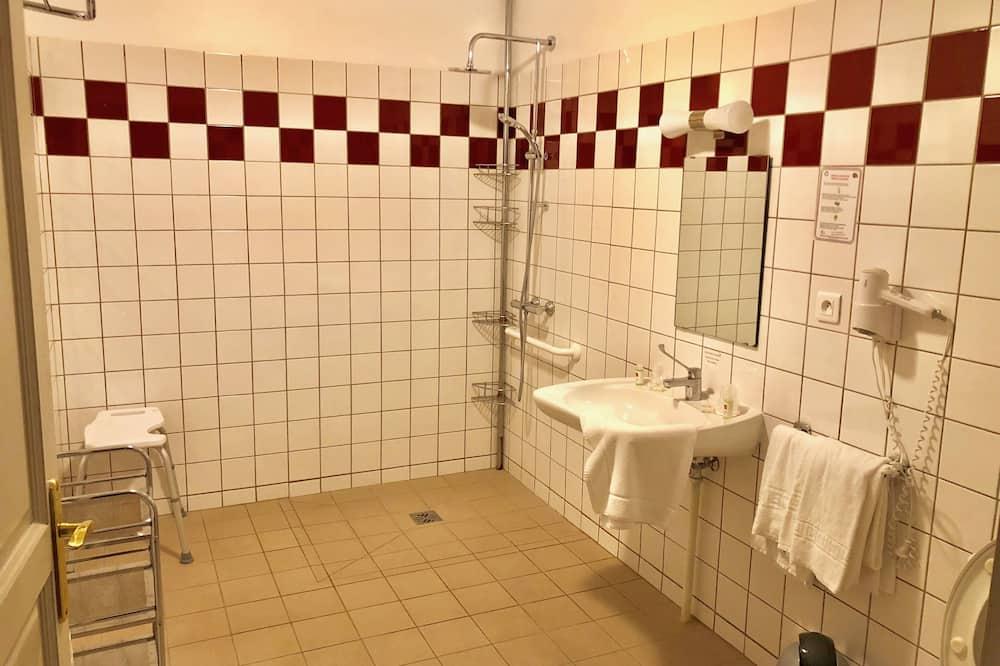 Класичний двомісний номер, обладнано для інвалідів - Ванна кімната